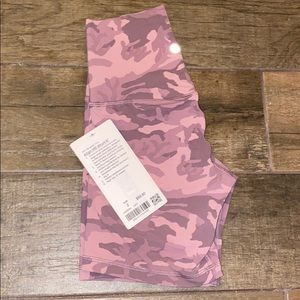 """NWT align high rise short 6"""" size 2"""